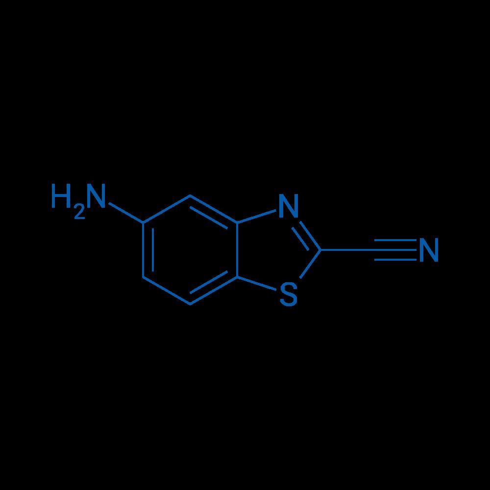 5-Aminobenzo[d]thiazole-2-carbonitrile