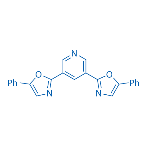 3,5-Bis(5-phenyloxazol-2-yl)pyridine