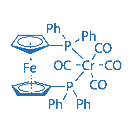 [1,1'-Bis(diphenylphosphino)ferrocene]tetracarbonylchromium(0)