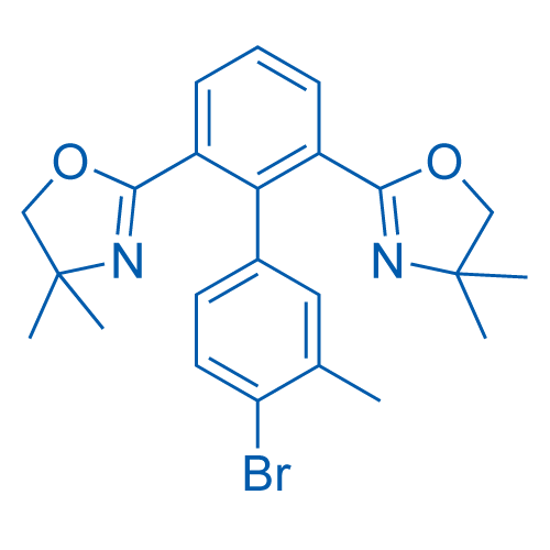2,2'-(4'-Bromo-3'-methyl-[1,1'-biphenyl]-2,6-diyl)bis(4,4-Dimethyl-4,5-dihydrooxazole)
