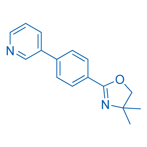 4,4-Dimethyl-2-(4-(pyridin-3-yl)phenyl)-4,5-dihydrooxazole