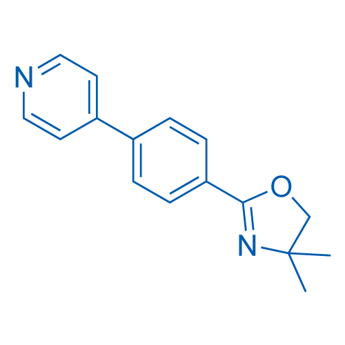 4,4-Dimethyl-2-(4-(pyridin-4-yl)phenyl)-4,5-dihydrooxazole