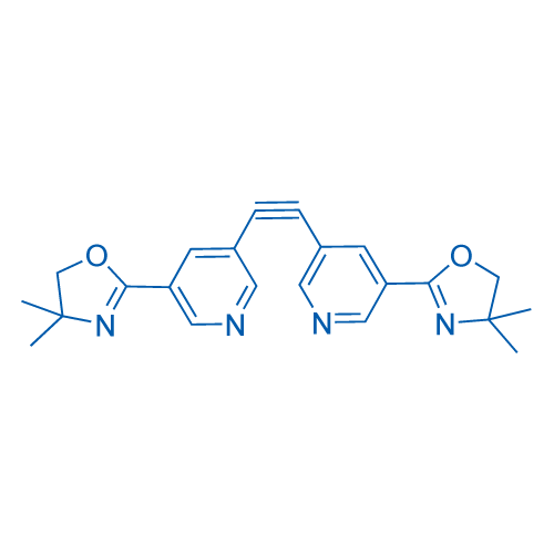 1,2-Bis(5-(4,4-dimethyl-4,5-dihydrooxazol-2-yl)pyridin-3-yl)ethyne