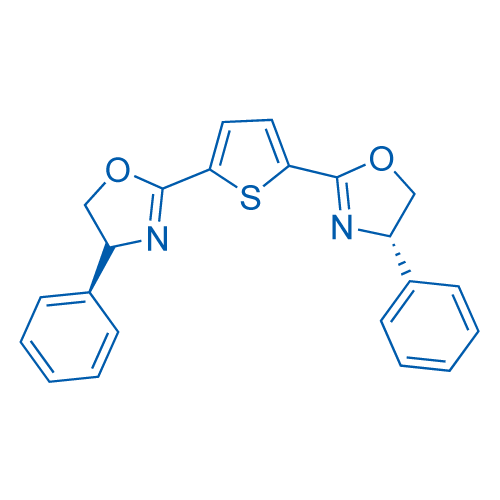 2,5-Bis((S)-4-phenyl-4,5-dihydrooxazol-2-yl)thiophene