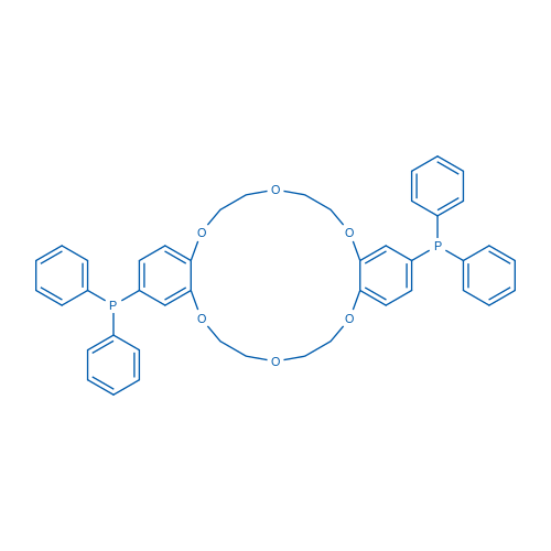 2,13-Bis(diphenylphosphino)-6,7,9,10,17,18,20,21-octahydrodibenzo[b,k][1,4,7,10,13,16]hexaoxacyclooctadecine