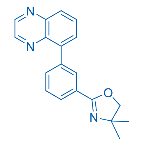 4,4-Dimethyl-2-(3-(quinoxalin-5-yl)phenyl)-4,5-dihydrooxazole