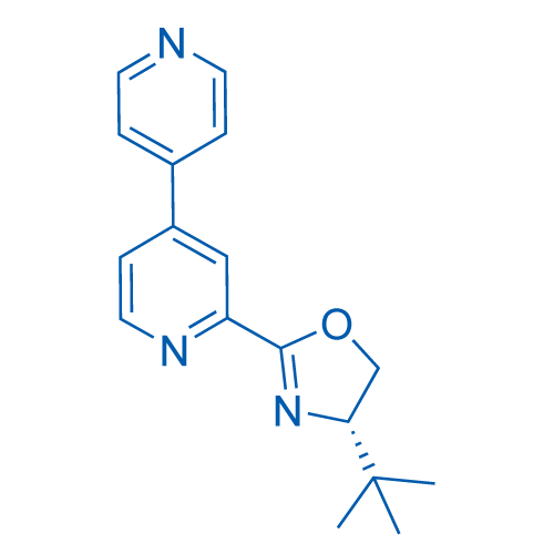 (S)-2-([4,4'-Bipyridin]-2-yl)-4-(tert-butyl)-4,5-dihydrooxazole