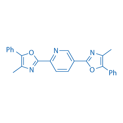 2,2'-(Pyridine-2,5-diyl)bis(4-methyl-5-phenyloxazole)
