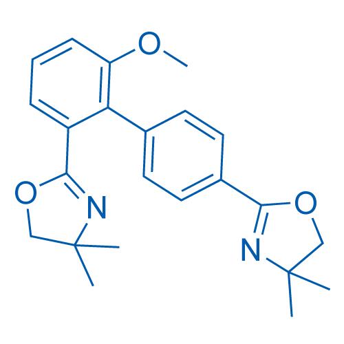 2,2'-(6-Methoxy-[1,1'-biphenyl]-2,4'-diyl)bis(4,4-Dimethyl-4,5-dihydrooxazole)