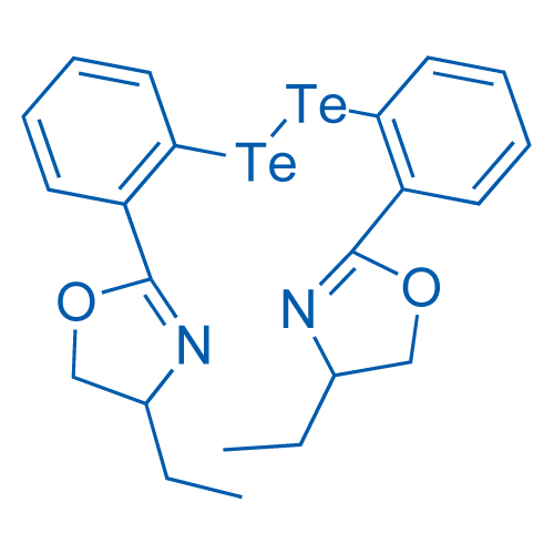 1,2-Bis(2-(4-ethyl-4,5-dihydrooxazol-2-yl)phenyl)ditellane
