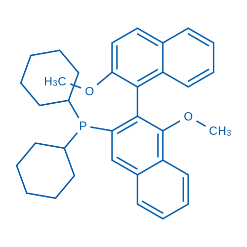 (1S)-Dicyclohexyl(1',2-dimethoxy-[1,2'-binaphthalen]-3'-yl)phosphine