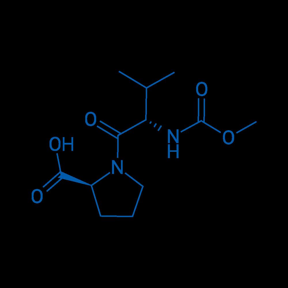 (S)-1-((S)-2-((Methoxycarbonyl)amino)-3-methylbutanoyl)pyrrolidine-2-carboxylic acid