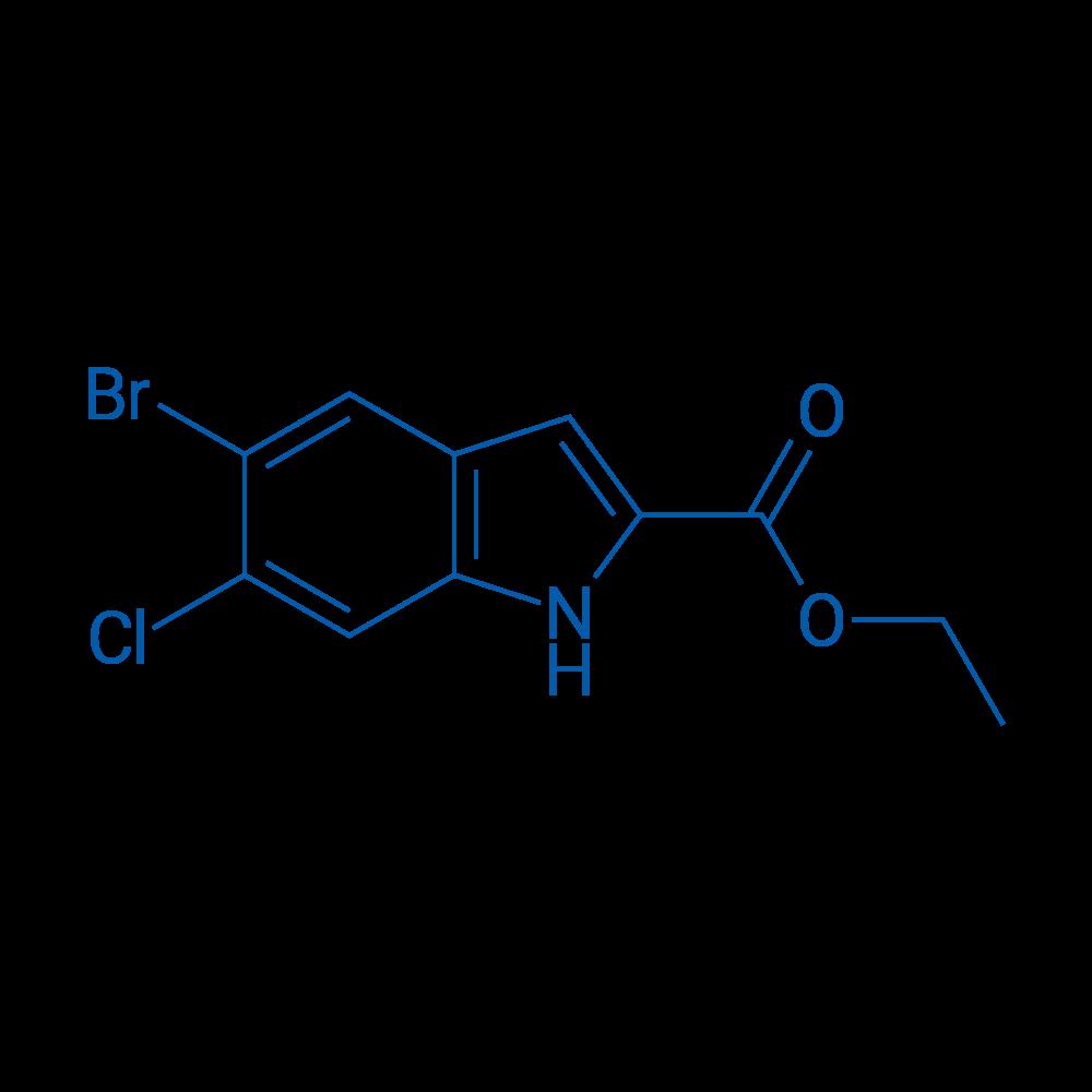 Ethyl 5-bromo-6-chloro-1H-indole-2-carboxylate