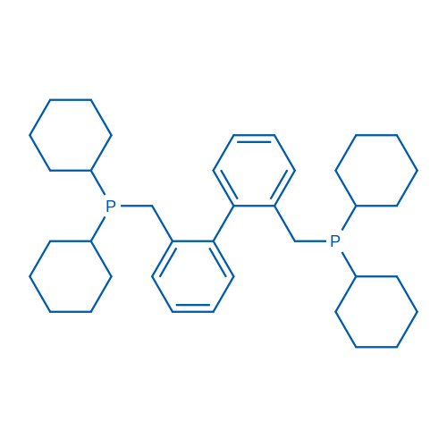 2,2'-Bis((dicyclohexylphosphino)methyl)-1,1'-biphenyl