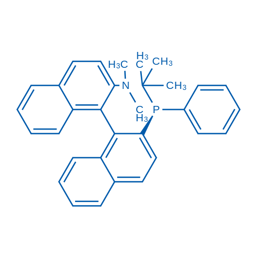 (1R)-2'-((S)-tert-Butyl(phenyl)phosphino)-N,N-dimethyl-[1,1'-binaphthalen]-2-amine