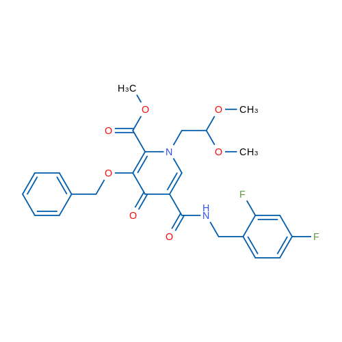Methyl 3-(benzyloxy)-5-((2,4-difluorobenzyl)carbamoyl)-1-(2,2-dimethoxyethyl)-4-oxo-1,4-dihydropyridine-2-carboxylate
