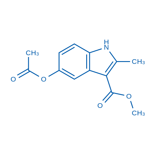 Methyl 5-acetoxy-2-methyl-1H-indole-3-carboxylate