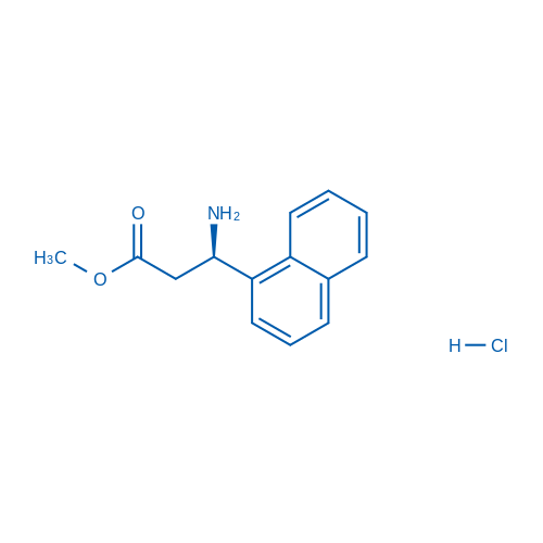 (R)-Methyl 3-amino-3-(naphthalen-1-yl)propanoate hydrochloride