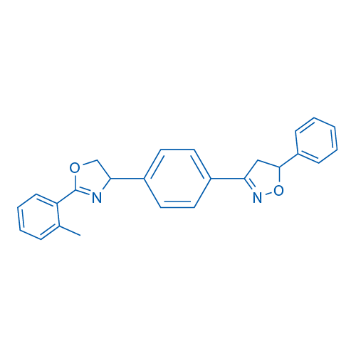 5-Phenyl-3-(4-(2-(o-tolyl)-4,5-dihydrooxazol-4-yl)phenyl)-4,5-dihydroisoxazole