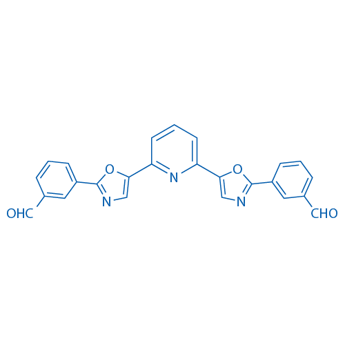 3,3'-(5,5'-(Pyridine-2,6-diyl)bis(oxazole-5,2-diyl))dibenzaldehyde