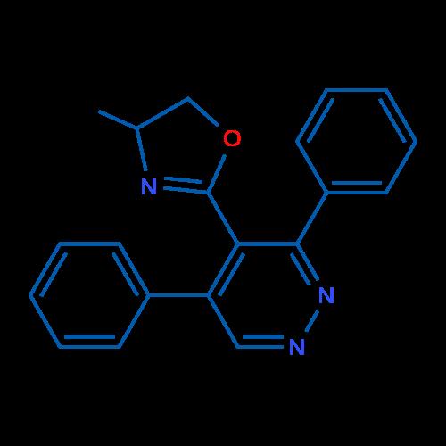 2-(3,5-Diphenylpyridazin-4-yl)-4-methyl-4,5-dihydrooxazole