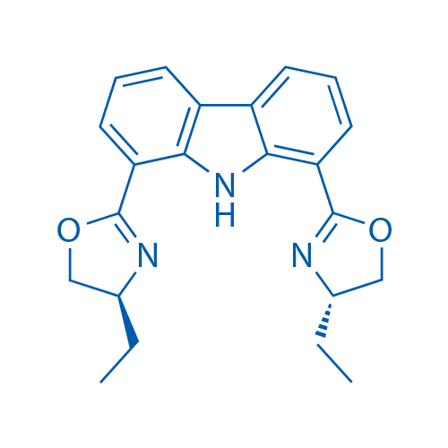 1,8-Bis((S)-4-ethyl-4,5-dihydrooxazol-2-yl)-9H-carbazole