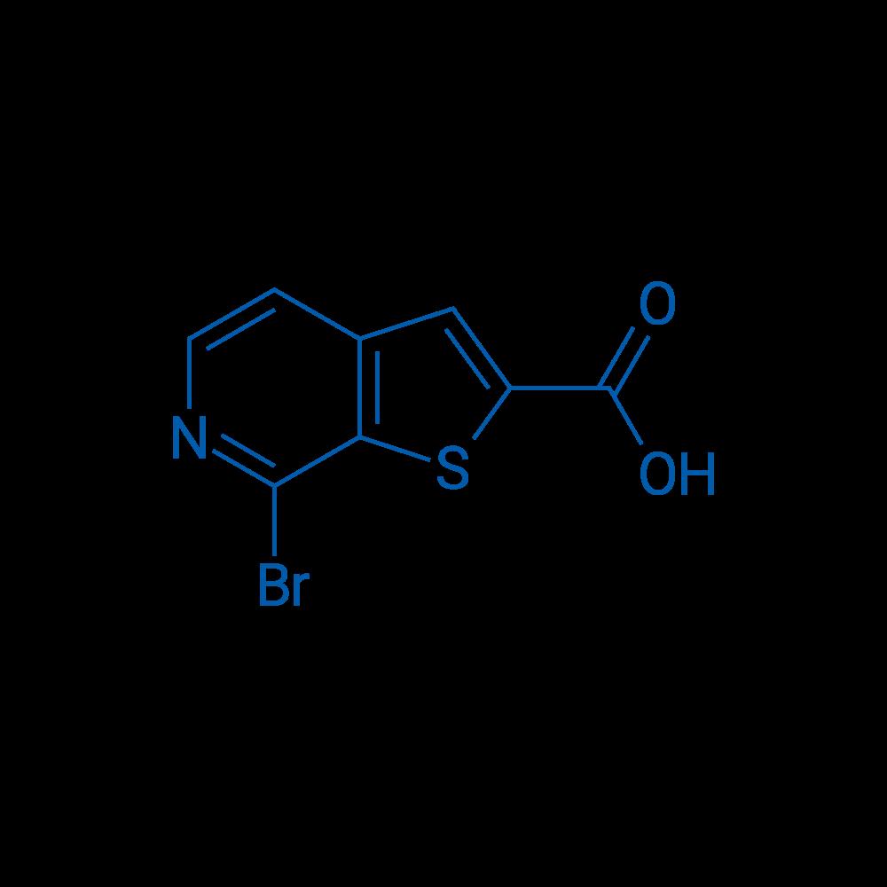 7-Bromothieno[2,3-c]pyridine-2-carboxylic acid