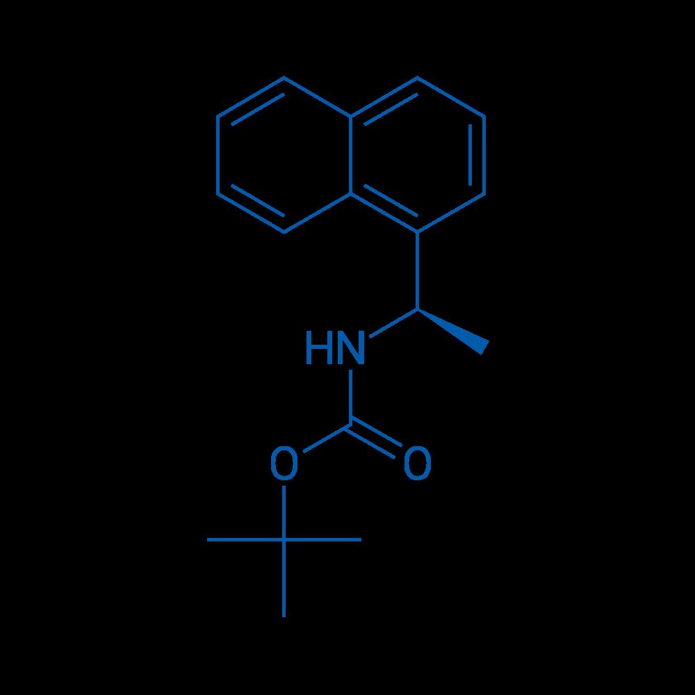 (R)-tert-Butyl (1-(naphthalen-1-yl)ethyl)carbamate