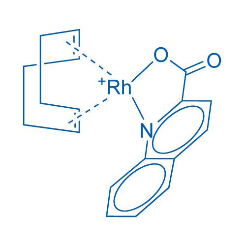(2-Quinaldinate)(bicyclo-2,2,1-hepta-2,5-diene)rhodium