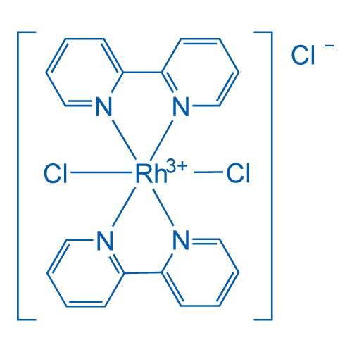 cis-Dichlorobis(2,2'-dipyridyl)rhodium(III) chloride