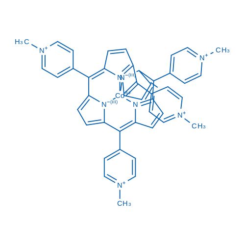 [[4,4',4'',4'''-(21H,23H-Porphine-5,10,15,20-tetrayl-κN21,κN22,κN23,κN24)tetrakis[1-methylpyridiniumato]](2-)]cobalt(5+)