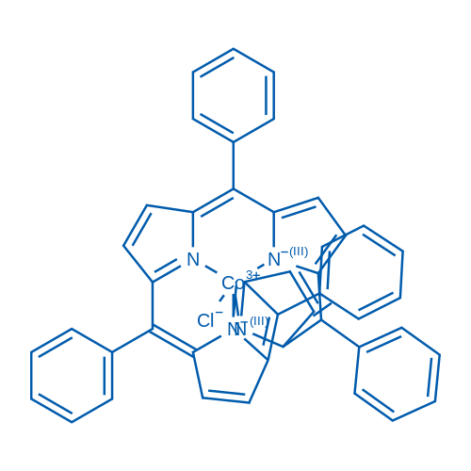 Chloro[meso-tetrakis(phenyl)porphyrinato]cobalt(III)