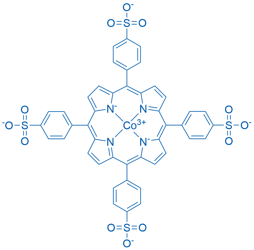 4-[10,15,20-Tris(4-sulfonatophenyl)porphyrin-22,23-diid-5-yl]benzenesulfonate cobalt(3+)