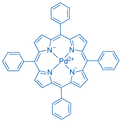 (meso-Tetraphenylporphyrinato)palladium