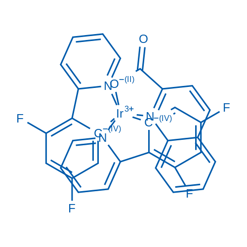 Bis[2-(4,6-difluorophenyl)pyridinato-C2,N](2-quinolincarboxylato)iridium(III)