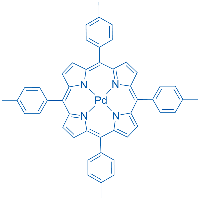 (meso-Tetra-p-tolylporphinato)palladium