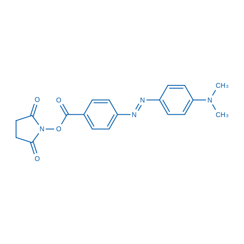 (E)-2,5-Dioxopyrrolidin-1-yl 4-((4-(dimethylamino)phenyl)diazenyl)benzoate