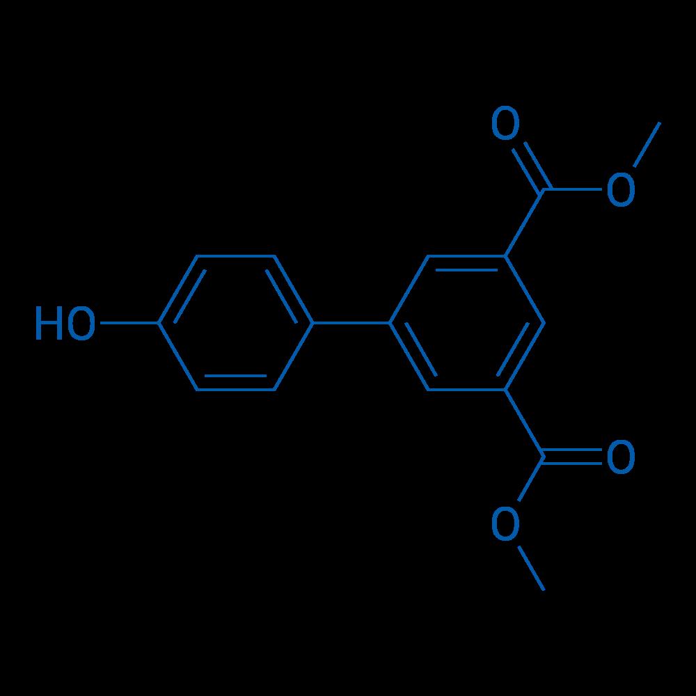 Dimethyl 4'-hydroxy-[1,1'-biphenyl]-3,5-dicarboxylate