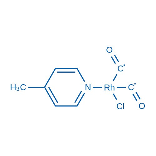 Dicarbonylchloro(γ-picoline)rhodium