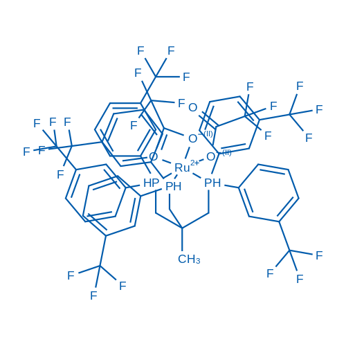 [3-Bis[3-(trifluoromethyl)phenyl]phosphanyl-2-[bis[3-(trifluoromethyl)phenyl]phosphanylmethyl]-2-methylpropyl]-bis[3-(trifluoromethyl)phenyl]phosphane,ruthenium(2+),2,2,2-trifluoroacetate