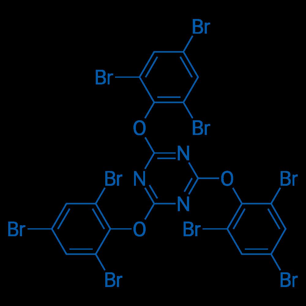 2,4,6-Tris(2,4,6-tribromophenoxy)-1,3,5-triazine