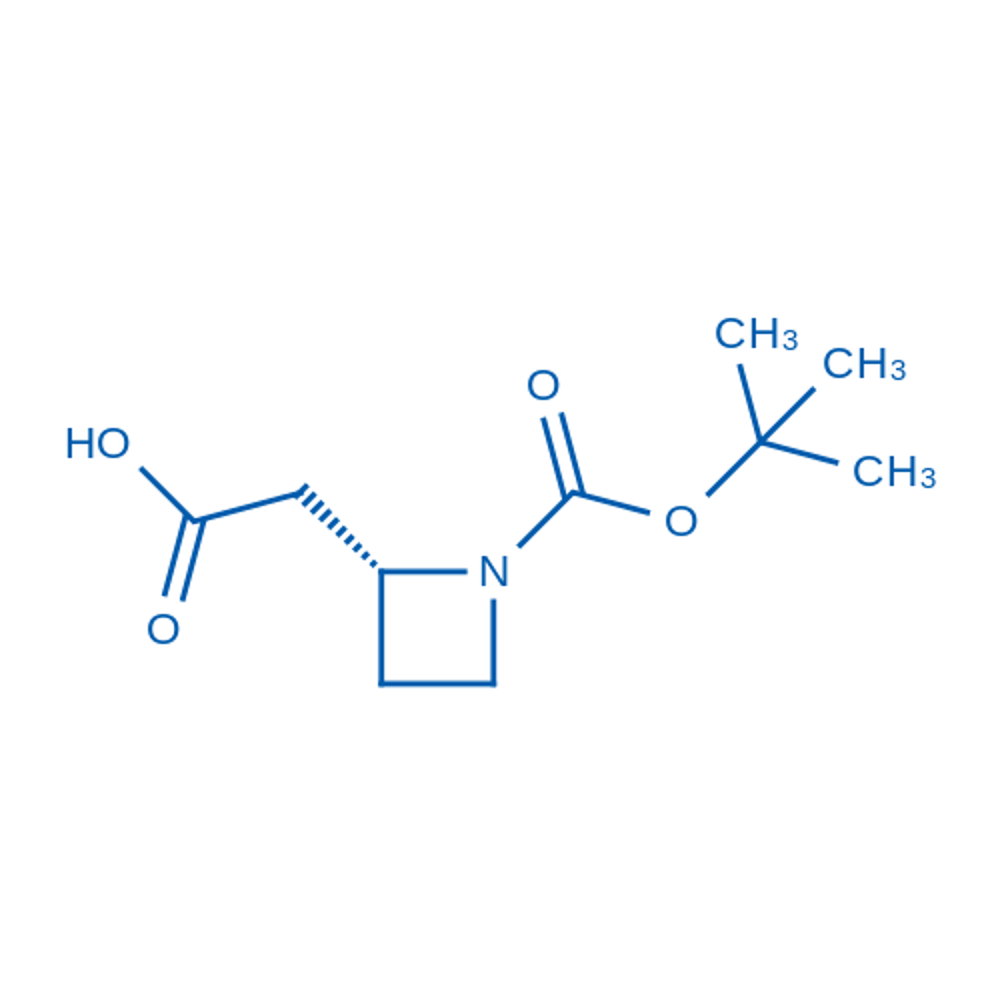 (R)-2-(1-(tert-Butoxycarbonyl)azetidin-2-yl)acetic acid