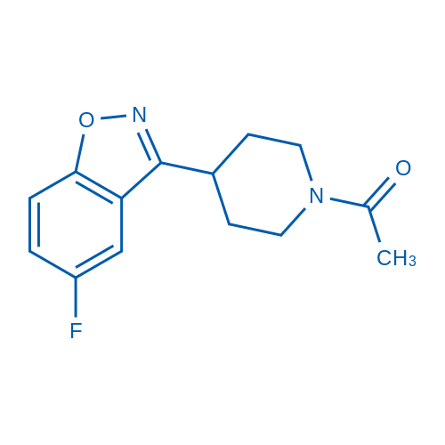 1-(4-(5-Fluorobenzo[d]isoxazol-3-yl)piperidin-1-yl)ethanone
