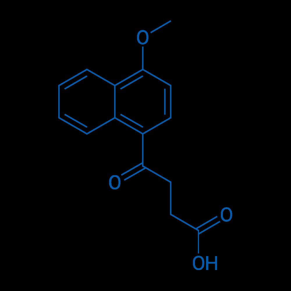 4-(4-Methoxynaphthalen-1-yl)-4-oxobutanoic acid