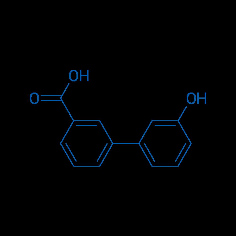 3'-Hydroxy-[1,1'-biphenyl]-3-carboxylic acid