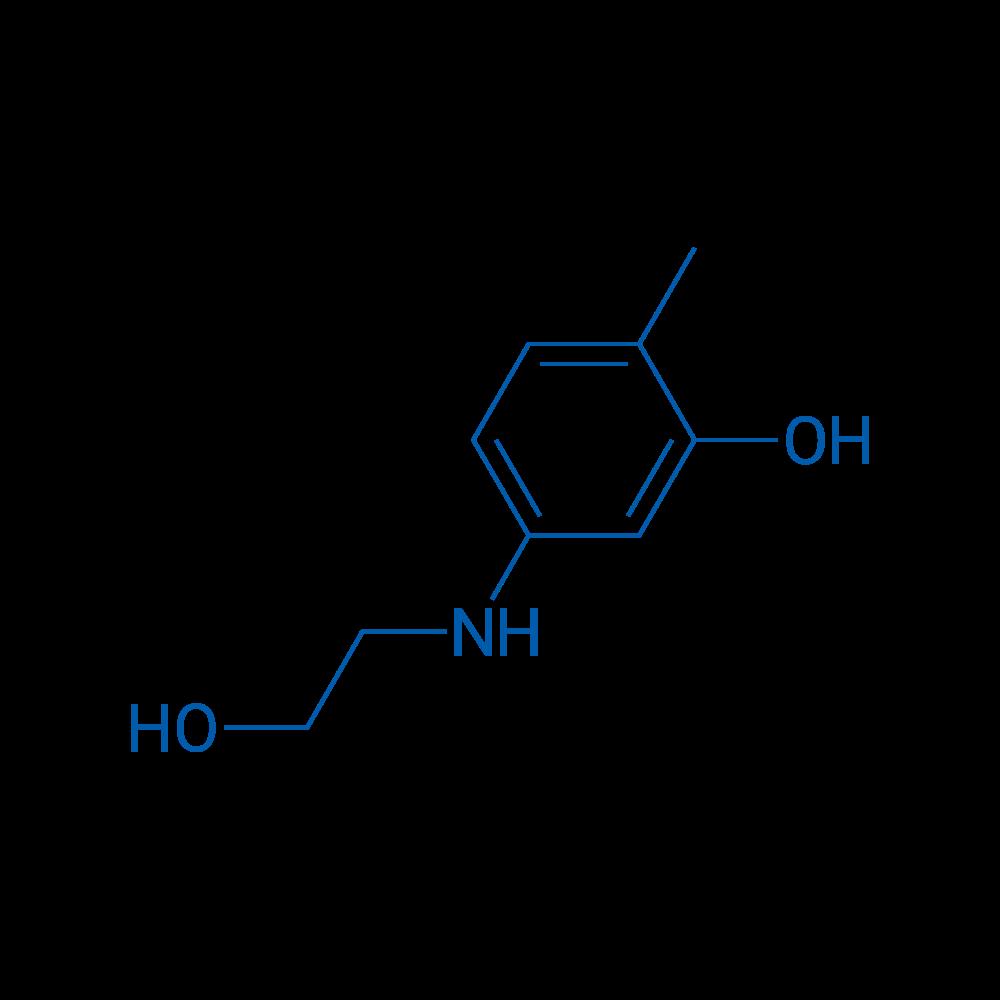 5-((2-Hydroxyethyl)amino)-2-methylphenol