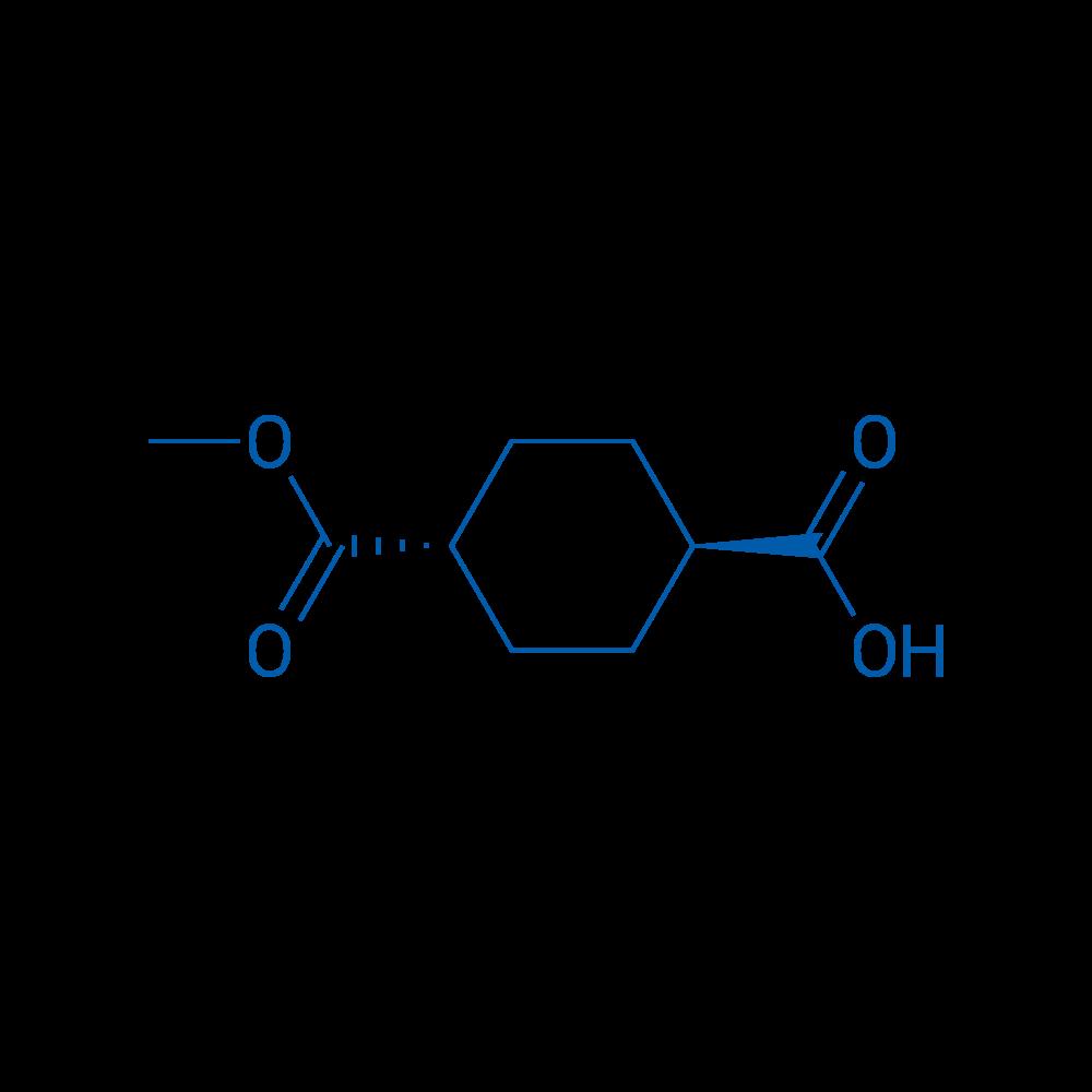 trans-4-(Methoxycarbonyl)cyclohexanecarboxylic acid