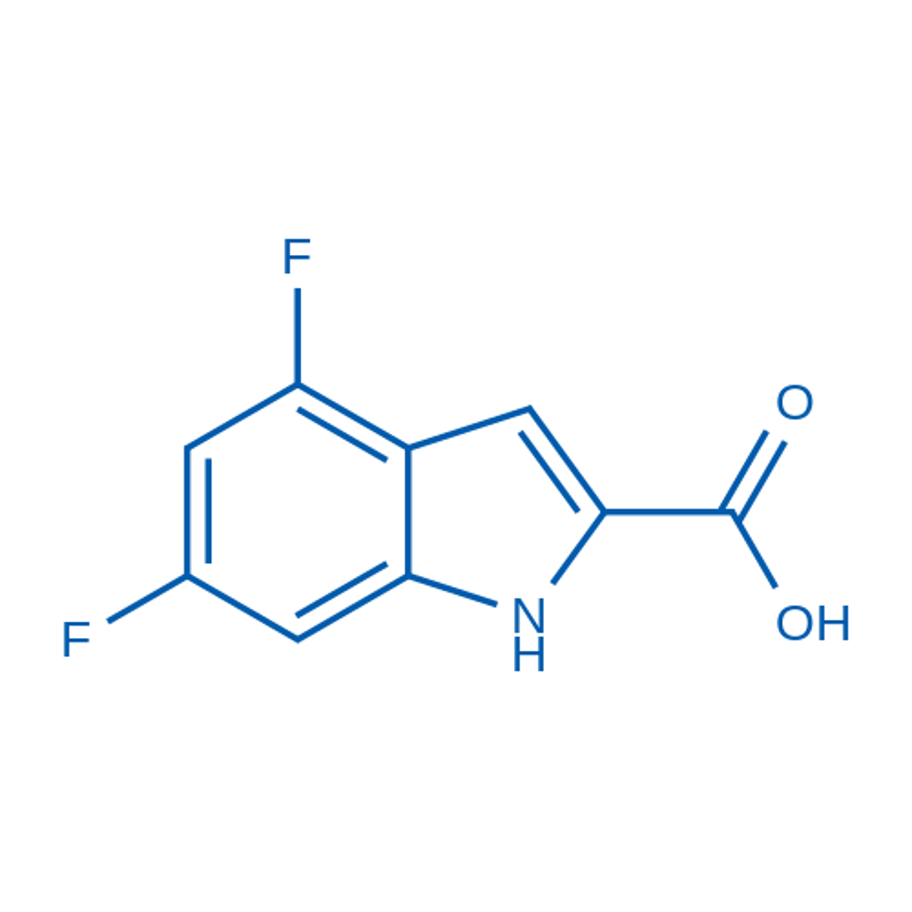 4,6-Difluoroindole-2-carboxylic acid
