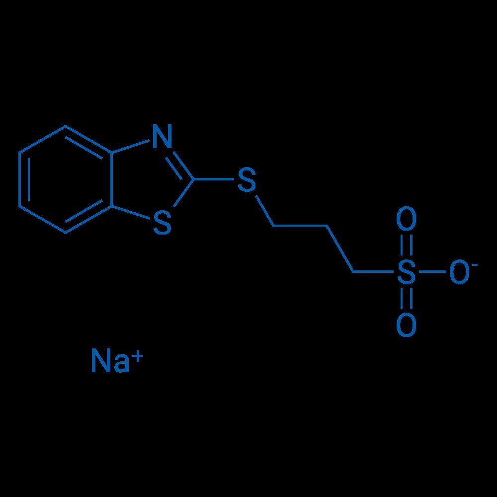 Sodium 3-(benzo[d]thiazol-2-ylthio)propane-1-sulfonate