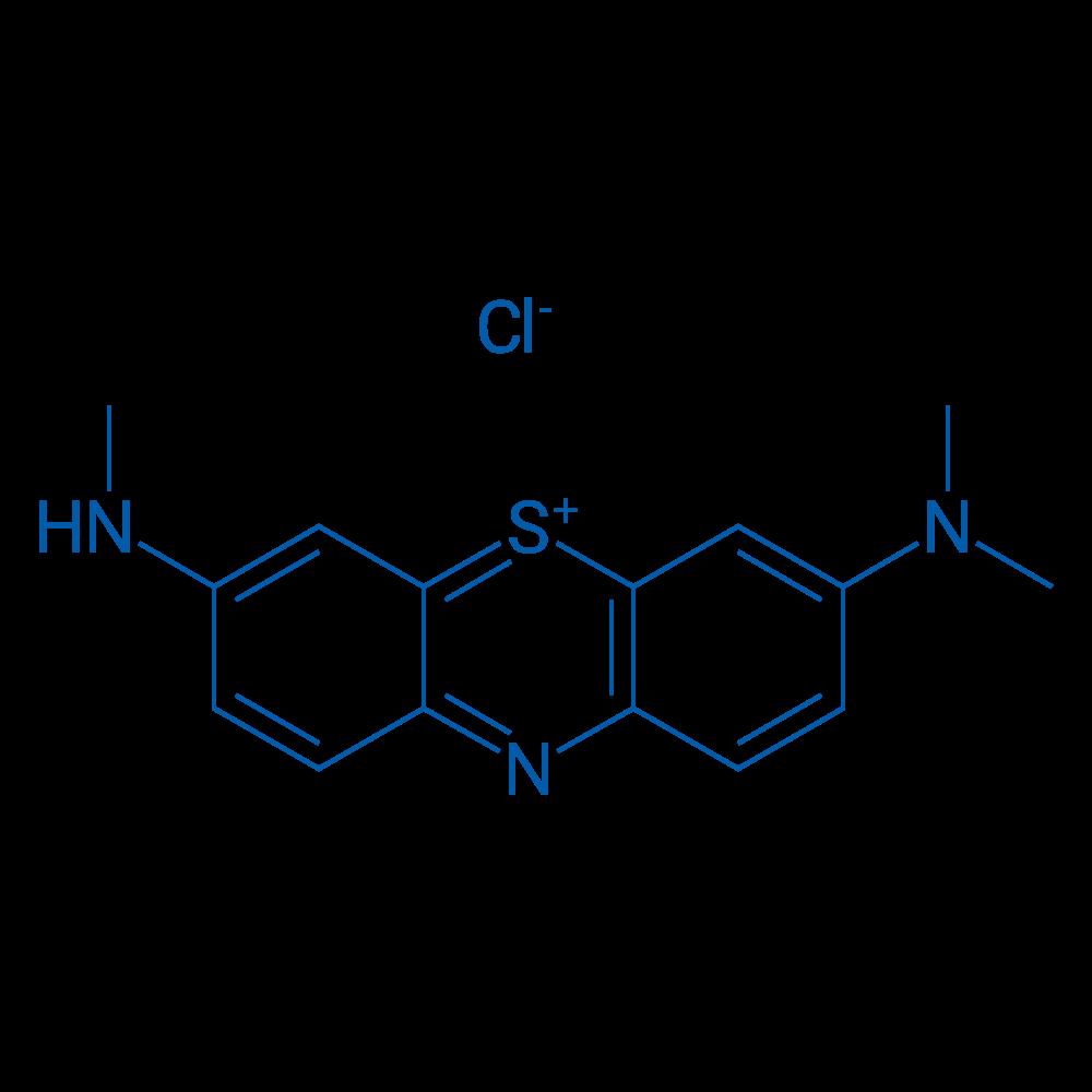 3-(Dimethylamino)-7-(methylamino)phenothiazin-5-ium chloride